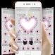 Silver Glitter Diamond Love Theme by Beauty Theme Studio