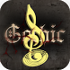 Gothic Theme For Free Music Player by Keyboard Theme & Music Player Theme