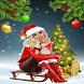 Christmas Girl Live Wallpaper by Daksh Apps