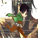 Attack Run Titan Eren by KABIRHOOD