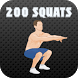 200 Squats: Training Plan by Maksym Balychev