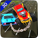 Chained Cars Rival Racing Impossible Stunt Driving by TimeDotTime