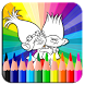 Coloring Pages for Troll by Funclan apps