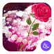 Shine Red Heart Rose Love--APUS Launcher theme by CoolAppPub