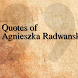 Quotes of Agnieszka Radwanska by The QuotesTeam