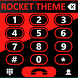 Theme Rocketdial Mixer Red by Tak Team Studio