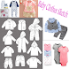 Baby Clothes Sketch