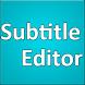 Subtitle Editor by Satheesh Kumar CyB