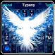 Blue Phoenix Keyboard Theme by Input theme