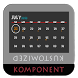 Calendar Plus for Kustom by Kustomized Komponents