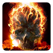 Fire Skulls Live Wallpaper by Pro Live Wallpapers