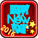 New Year Widget by The World of Digital Clocks