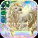 Rainbow unicorn Keyboard theme by hot keyboard themes
