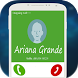 Call From Ariana Grande by Justin-app