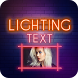 Lighting Text Photo Frame by Pixel Plus
