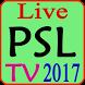Live PSL TV & Live Scores 2017 by Appsdream