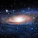 free moving galaxy wallpaper by motion interactive