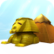 Egyptian Sphinx & Pyramid 3D by Sky, Wind, Star and Poem