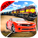 New City Car Racing Vs. Train Rival Hero on Road