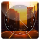 Sunset City HD Analog Clock by Jike Inc.