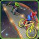 Impossible Superhero Hill Climb BMX Stunt Racing