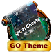 Spiral Cheetah GO SMS by Rich Themes