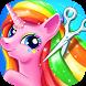 Rainbow Pony Makeover by Bear Hug Media Inc