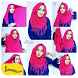 Tutorial Hijab Wanita Muslimah by Lunar Studios