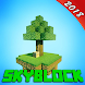 Mega SkyBlock for Minecraft PE Map by funmakermod