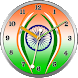 India Clock Live Wallpaper by iPlay Store