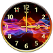 Fire Clock Widget by Customize My Phone