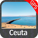 Ceuta GPS Map Navigator by FLYTOMAP INC