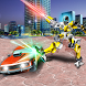 Clash of Warrior Robots & Cars by microclip