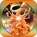 Durga Maa Clock Live Wallpaper by QuickPopApps