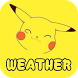 Pikach Weather Forecast Widget&Radar Map Monster by Better Weather Widget Monster Team