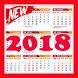 Kalender Tahun 2018 by Jebag Studio