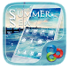 Summer Sea Go Launcher Theme by Freedom Design
