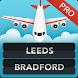FLIGHTS Leeds Bradford Pro by FlightInfoApps.com