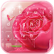 Pink rose Keyboard theme by hot keyboard themes