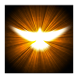 The Holy Spirit by Blue Flames