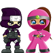 Save Pink Ninja by yazane