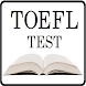 TOEFL Test - in Arabic