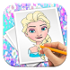 Coloring Book For Barbie by The best draws