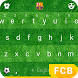 Barcelona The Field Keyboard Theme by Kika Sports Keyboard Theme Lab