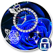 sapphire rosette diamond theme by Free new hot colorful themes