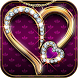 Diamond Love Theme Luxury Gold by SkyCity Apps