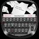Black Typewriter Keyboard by Best Keyboard Theme Design