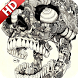 Mexican Skull Wallpaper by UniverseWallpapers