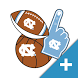 UNC-Chapel Hill Tarheels PLUS Selfie Stickers