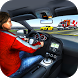 Highway Traffic Racing in Car